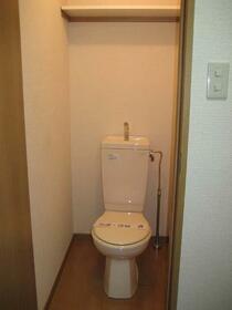 ヴィラシャルマン 207号室のトイレ