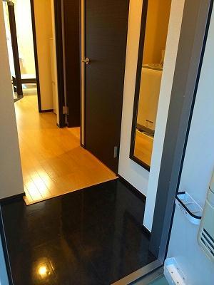 レオネクストOKハウス 301号室の玄関