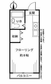 ラフォーレ高井戸2 103号室の間取り