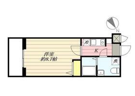 グランパーク東京NORTH・0406号室の間取り