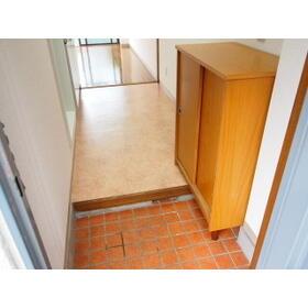 ビーハイブ 101号室の玄関