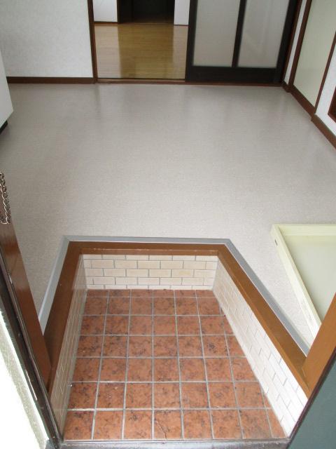 コーポ和気 107号室の玄関
