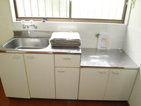 石井ハイツA 101号室のキッチン