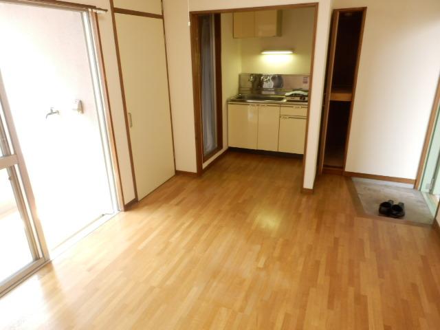 エバマンマンション 503号室の玄関