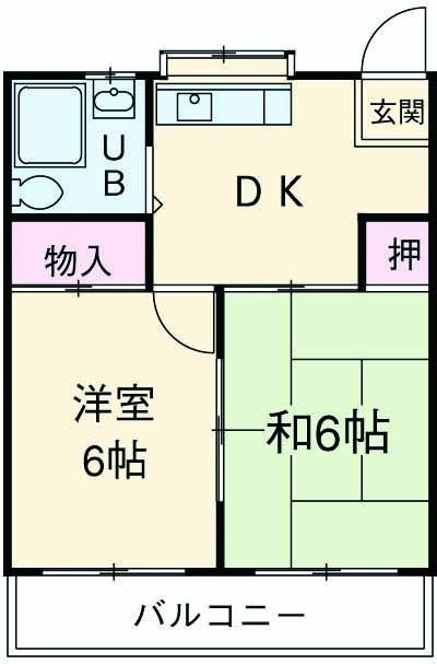 吉澤倉庫ビル 401号室の間取り