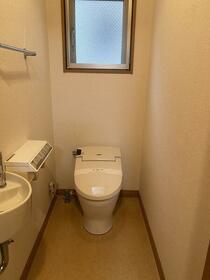 Pua-Honu 2F号室のトイレ