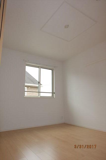 ラ・ルーチェA 02010号室のベッドルーム