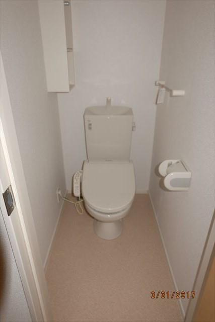 ラ・ルーチェA 02010号室のトイレ
