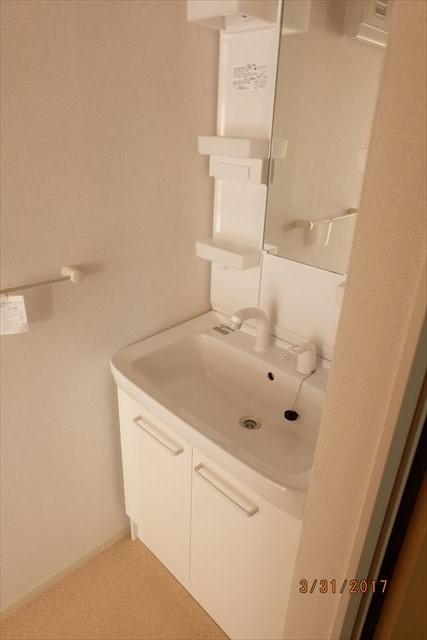 ラ・ルーチェA 02010号室の洗面所
