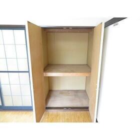 ボヌールYAMABIKO 0102号室の収納