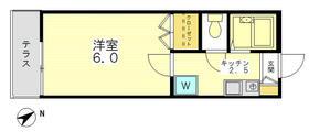 メゾンドソレイユ・103号室の間取り