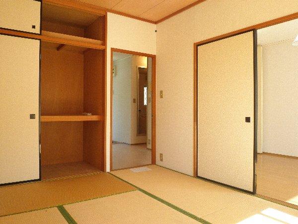 グリーンフラットB 103号室のベッドルーム