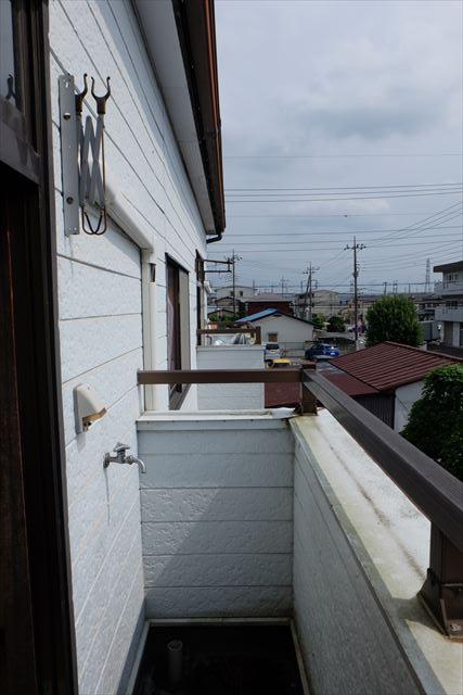 1822ハイツMEIWA 202号室のバルコニー