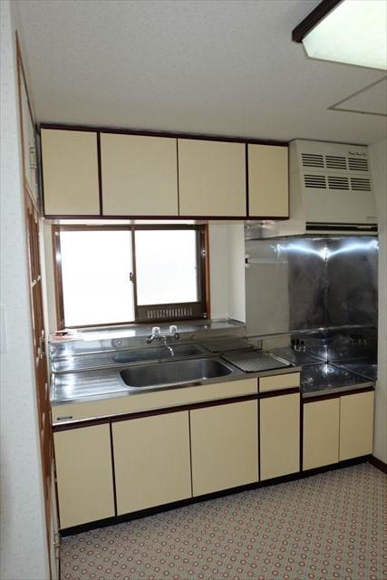 レジデンス暁 203号室のキッチン