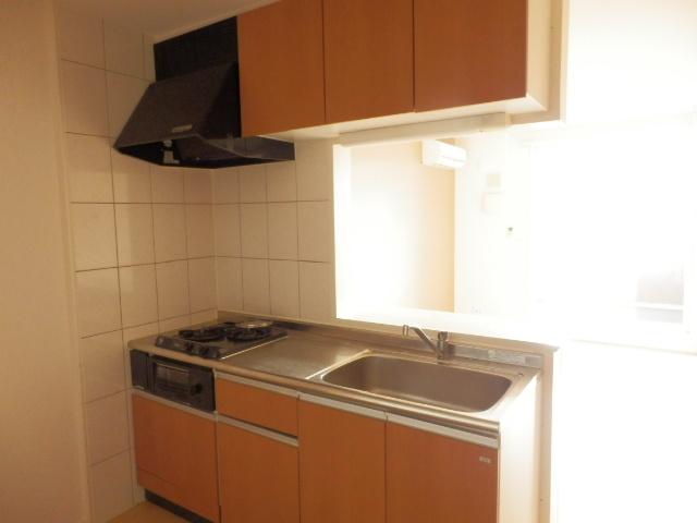 リバレインヒルズⅠ 203号室のキッチン