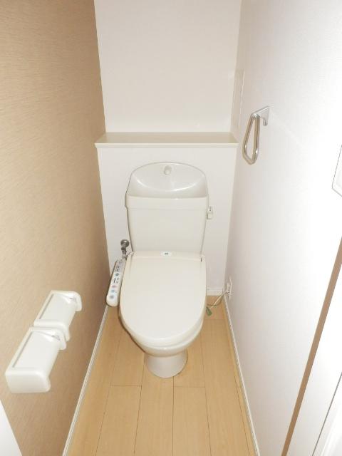リバレインヒルズⅠ 203号室のトイレ