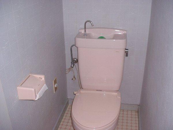 吉沢ハイツ 203号室のトイレ