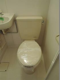 パークフラッツ 103号室のトイレ