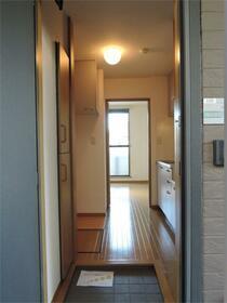 パークフラッツ 103号室の玄関