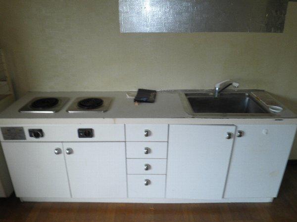コープオリンピア宇津宮 402号室のキッチン