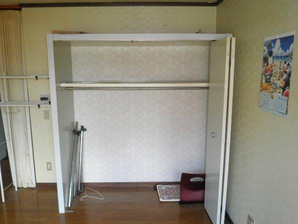 コープオリンピア宇津宮 402号室の収納