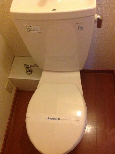 レオパレスTwin Leaf 202号室のトイレ
