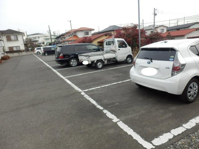 佐藤コーポ 202号室の駐車場