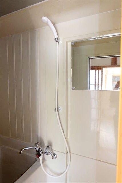 睦荘 5号室の洗面所