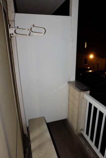 シティーペンション片柳 202号室のバルコニー