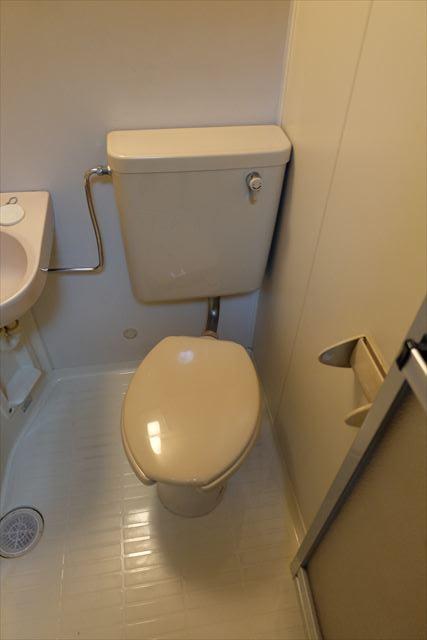 シティーペンション片柳 202号室のトイレ