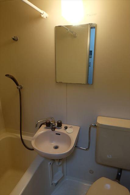 シティーペンション片柳 202号室の洗面所