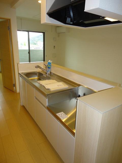 エル・ヴィータ B 02010号室のキッチン