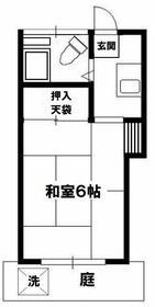 アビタシオン武蔵野・105号室の間取り
