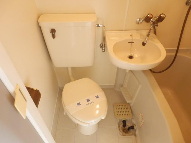 プラザ・ドゥ・ベルタ 205号室のトイレ