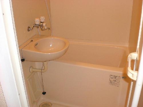 レオパレスプレアデス 204号室の洗面所