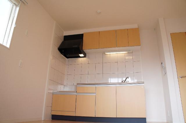リバーサイドヴィラⅡ 201号室のキッチン