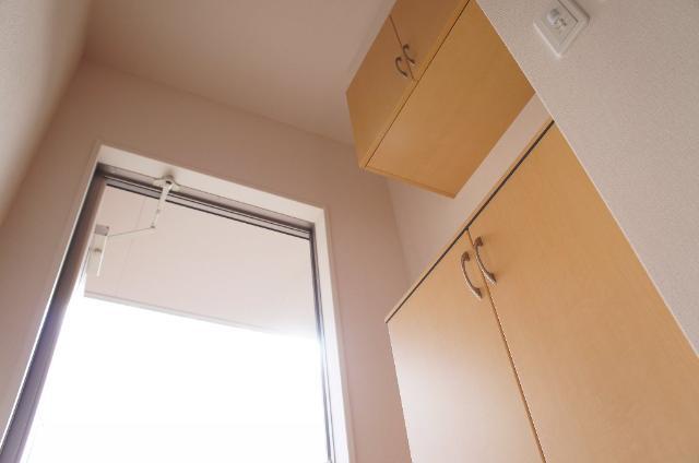 リバーサイドヴィラⅡ 201号室の玄関