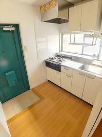 ハイム16号館のバルコニー