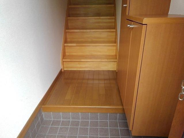 ヴィラ星の宮 02030号室の玄関