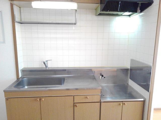 ヴィラ星の宮 02030号室のキッチン