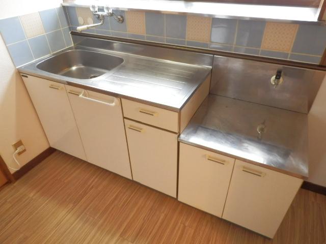 土田コーポ 201号室のキッチン