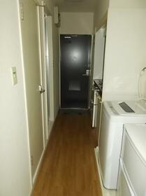 西川田第8レジデンス 101号室の玄関