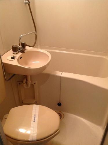 レオパレス西川田第1 203号室の洗面所