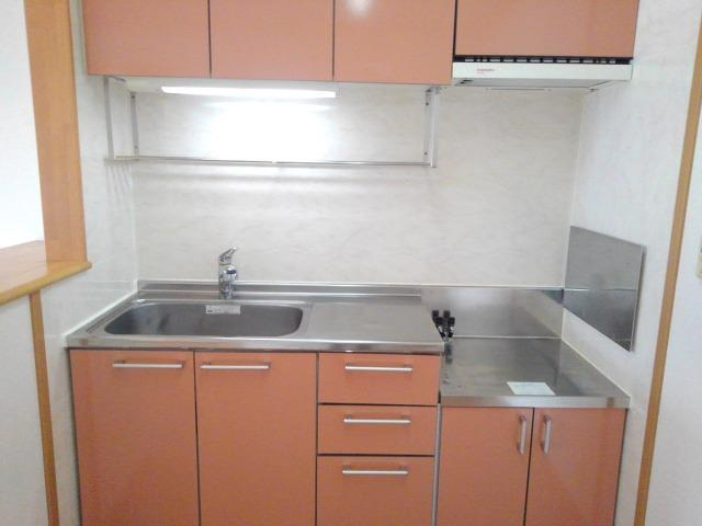 ブリーズ Ⅱ 02010号室のキッチン