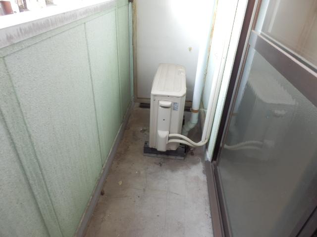 メゾンドココ 202号室のバルコニー