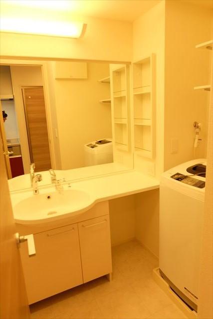 Royal Wit E 105号室の洗面所