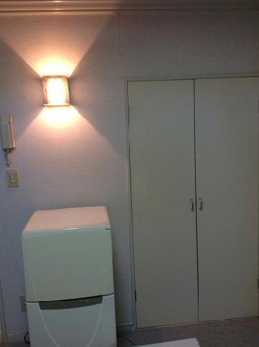 レオパレス西川田第1 202号室のキッチン
