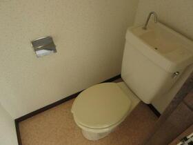 つかさコーポ 101号室のトイレ