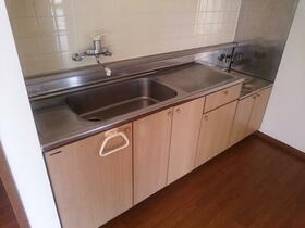 ハイツ明海 302号室のキッチン