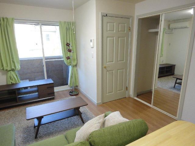 シルフィード 00101号室の玄関